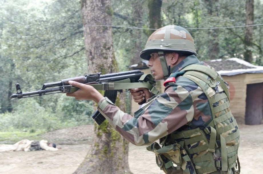 After suspected movement along border security forces launch search operations in Samba