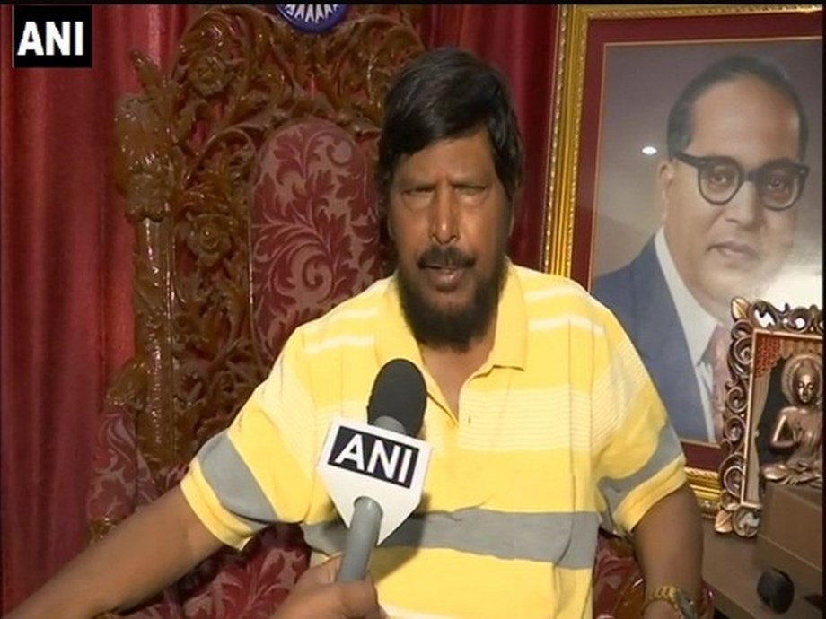 Ramdas Athawale refutes phone tapping allegations raised by Maha Home Min