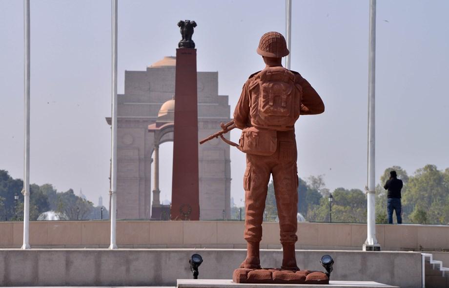 Gujjar Mandi Chowk war memorial in Rajouri district renovated by Army