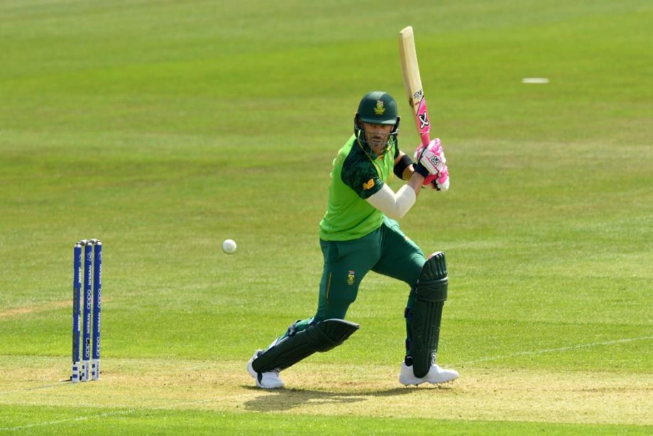 Faf Du Plessis Plays Captain's Innings As S. Africa Cruise