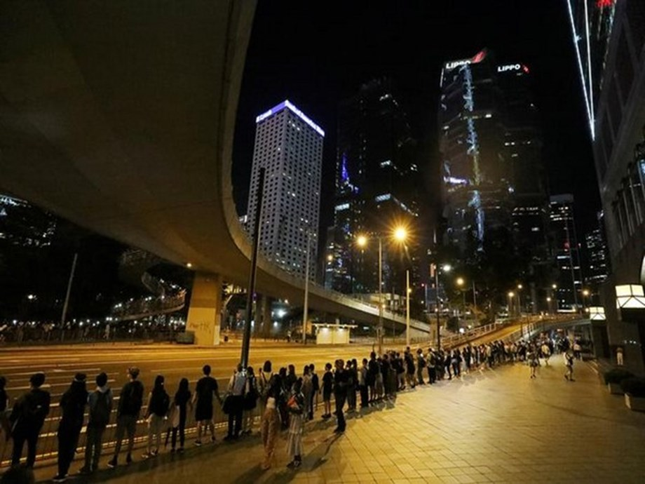 Hong Kong reels from worst clashes in months as protesters battle police