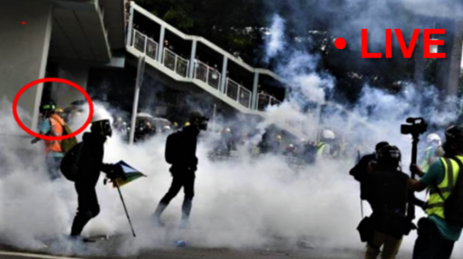 Hong Kong police warns of using 'force' if protesters don't leave