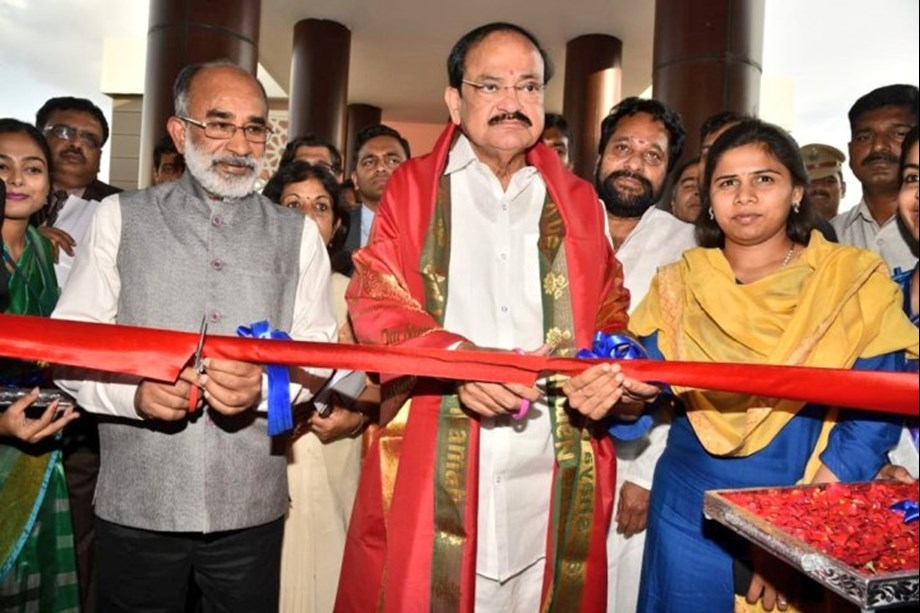 Venkaiah Naidu inaugurates Rs 100 crore Indian Culinary Institute built by Ministry of Tourism
