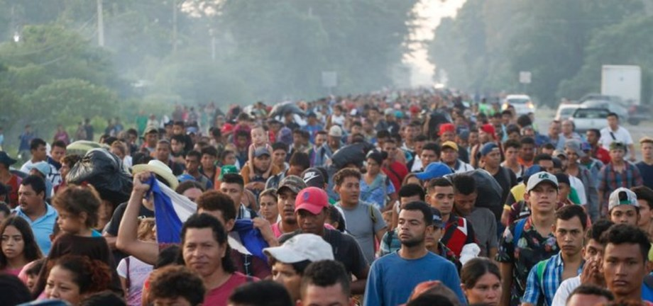CORRECTED-Mexico to deport migrants who 'violently' tried to cross the U.S. Border