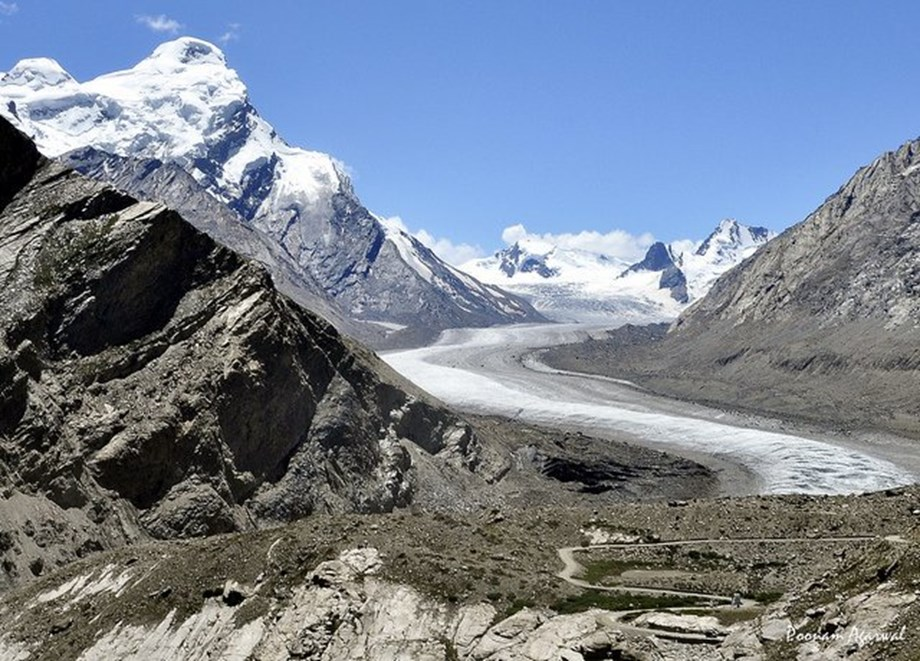 Climate change disrupts river flows in Himalayan region affecting crops to grow