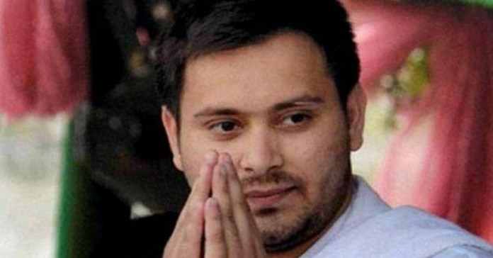 Samvidhan Bachao Yatra: Controversy over posters of Tejaswi Yadav, rape-tainted RJD leader