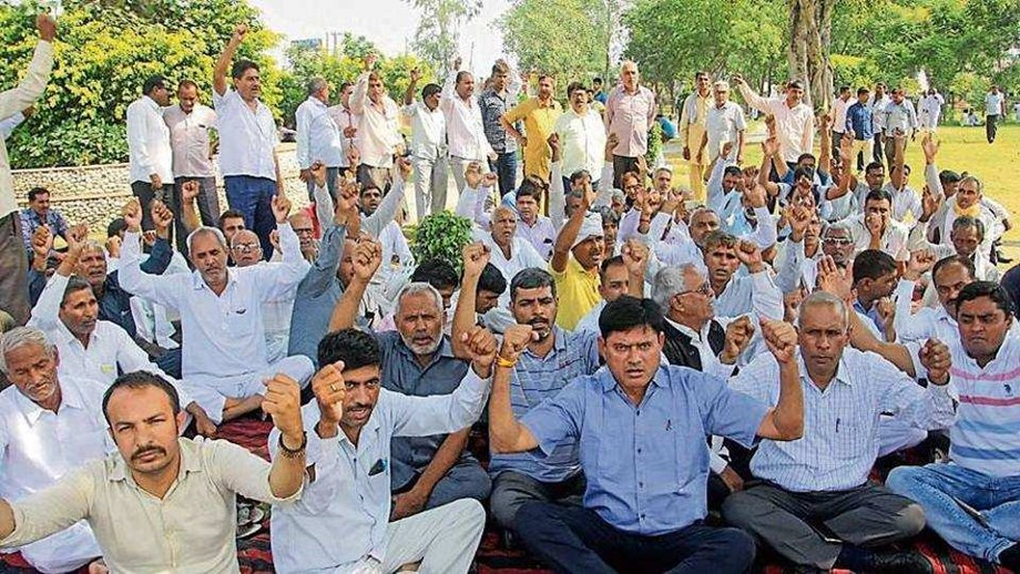 Haryana roadways workers get support from government staffers