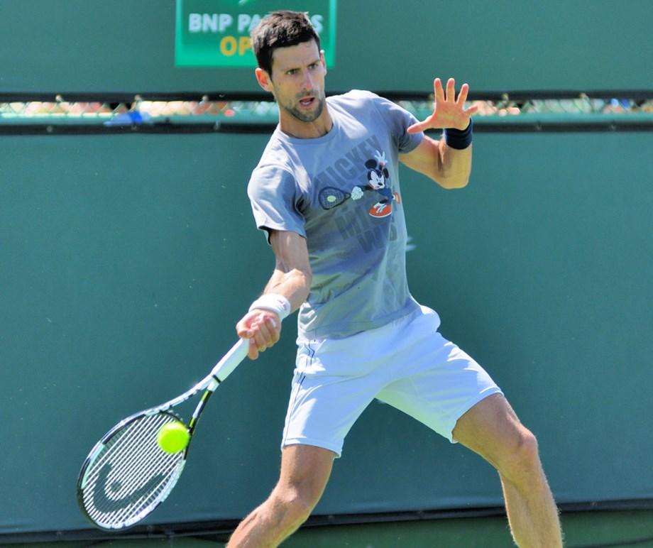 UPDATE 2-Tennis-Djokovic thrashes Berrettini, Thiem stuns Federer