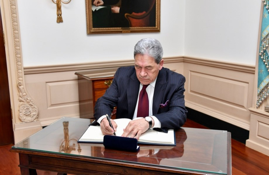 Winston Peters travelling to Australia and Papua New Guinea