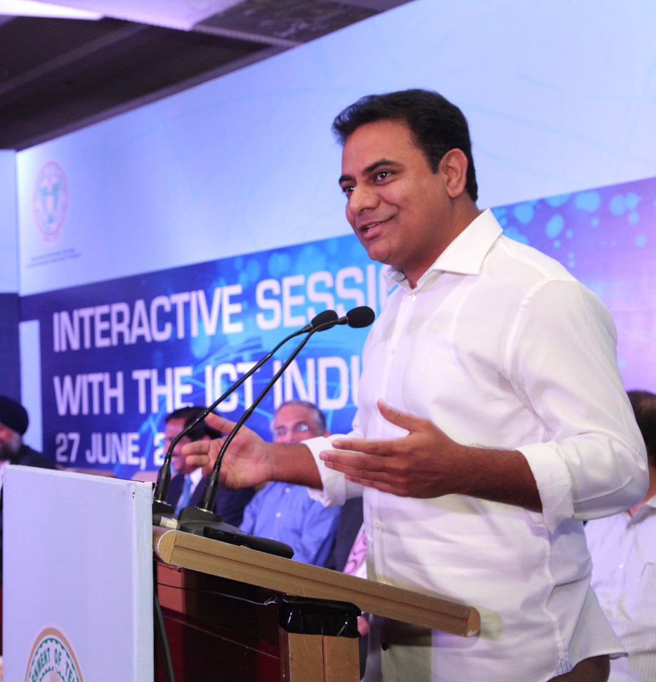 Rama Rao slams BJP govt for not doing anything special for Telangana