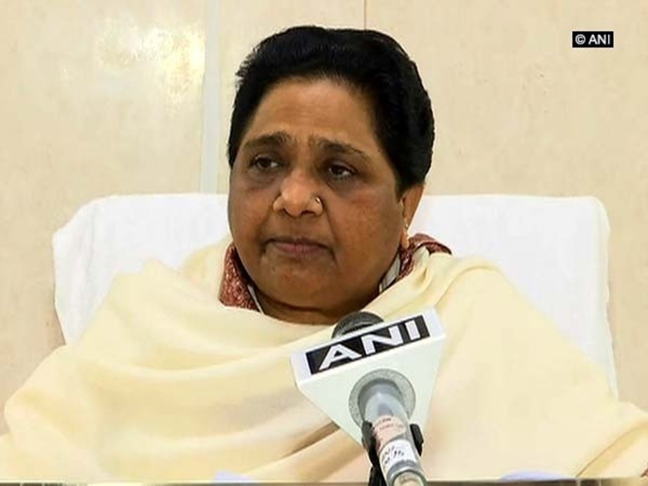 Spread of anarchy at every level by BJP a cause of concern, says Mayawati