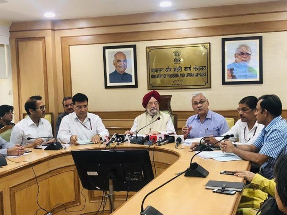 PMAY(U), AMRUT and SCM Missions ensuring ease of living for citizens