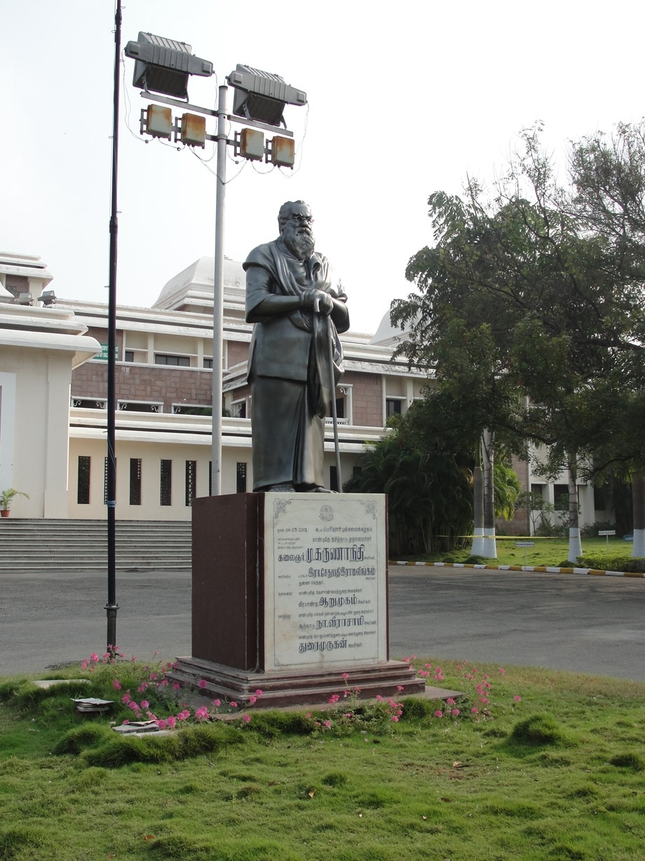 Statue of  respected Dravidian leader Periyar found vandalized