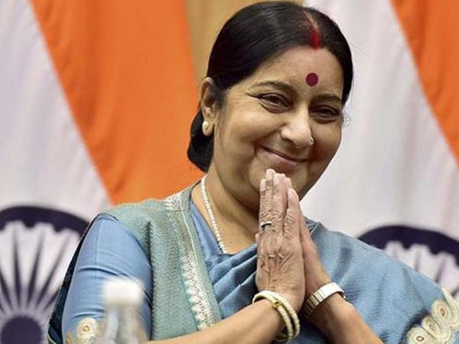 Swaraj discusses trade with several foreign counterparts