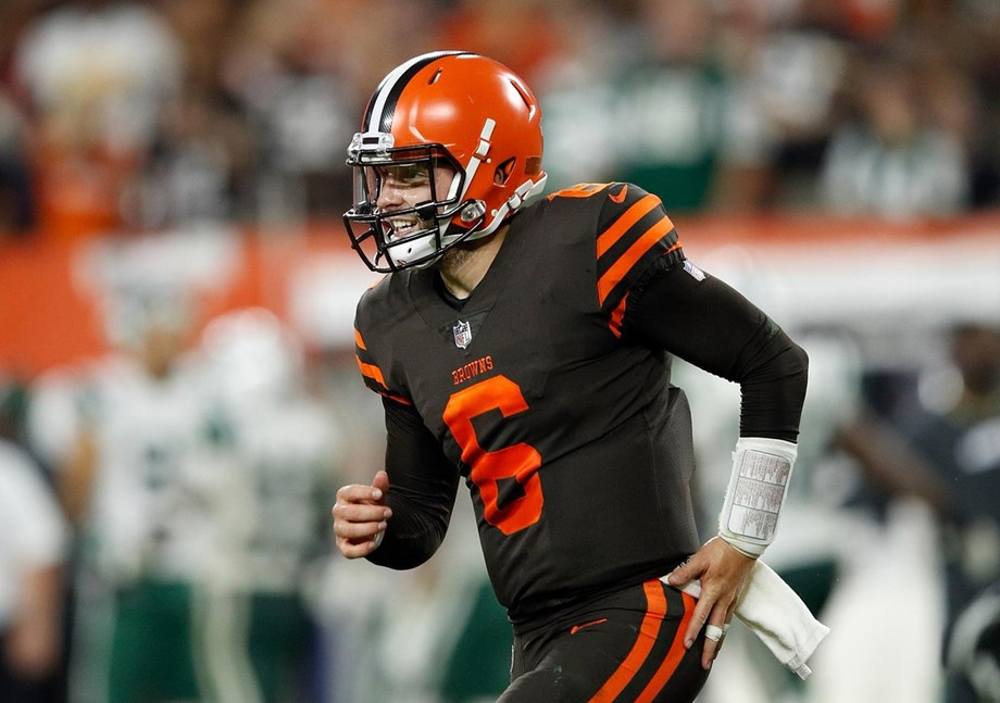 Baker Mayfield is starting quarterback of Browns