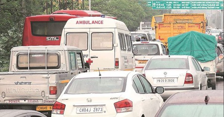 Delhi special green corridor covering distance of 13 KM in just 11 minutes