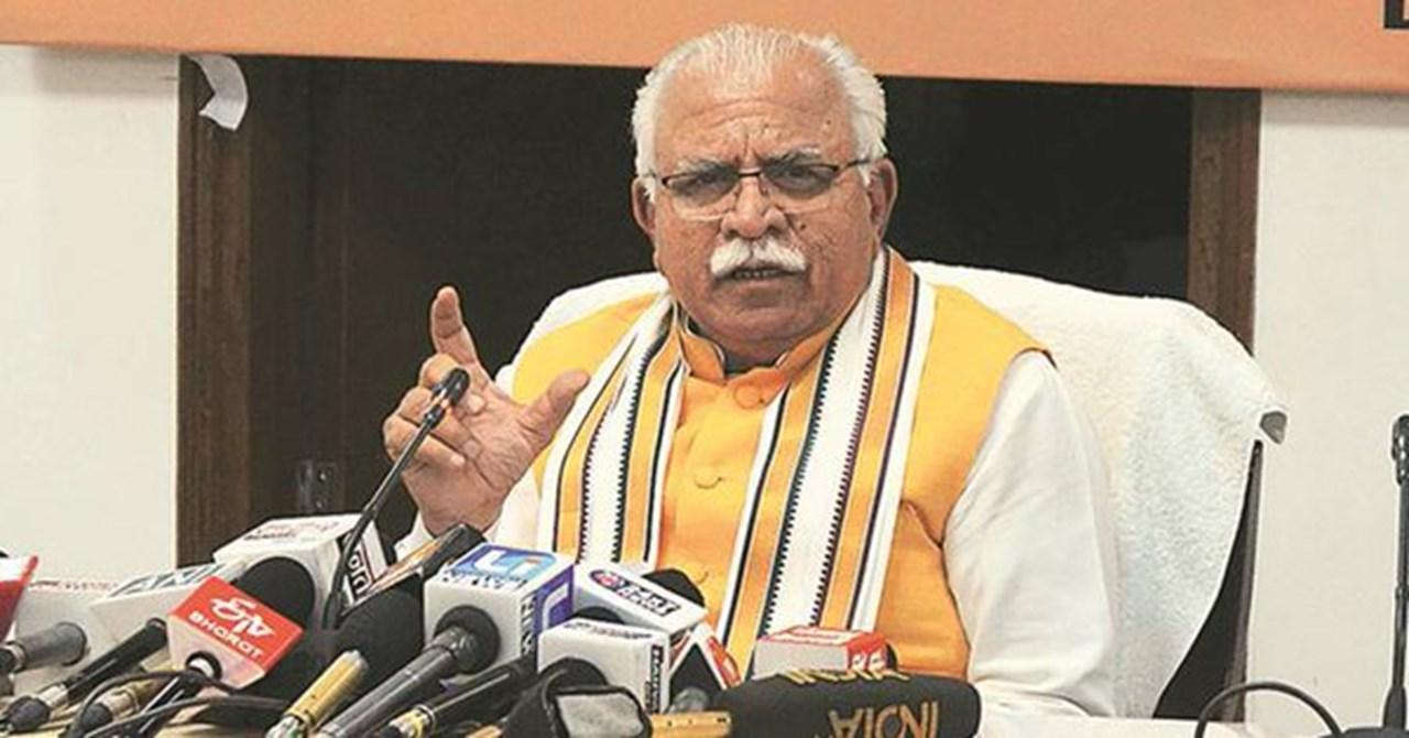 Haryana: Khattar announces special campaign to combat drugs menace