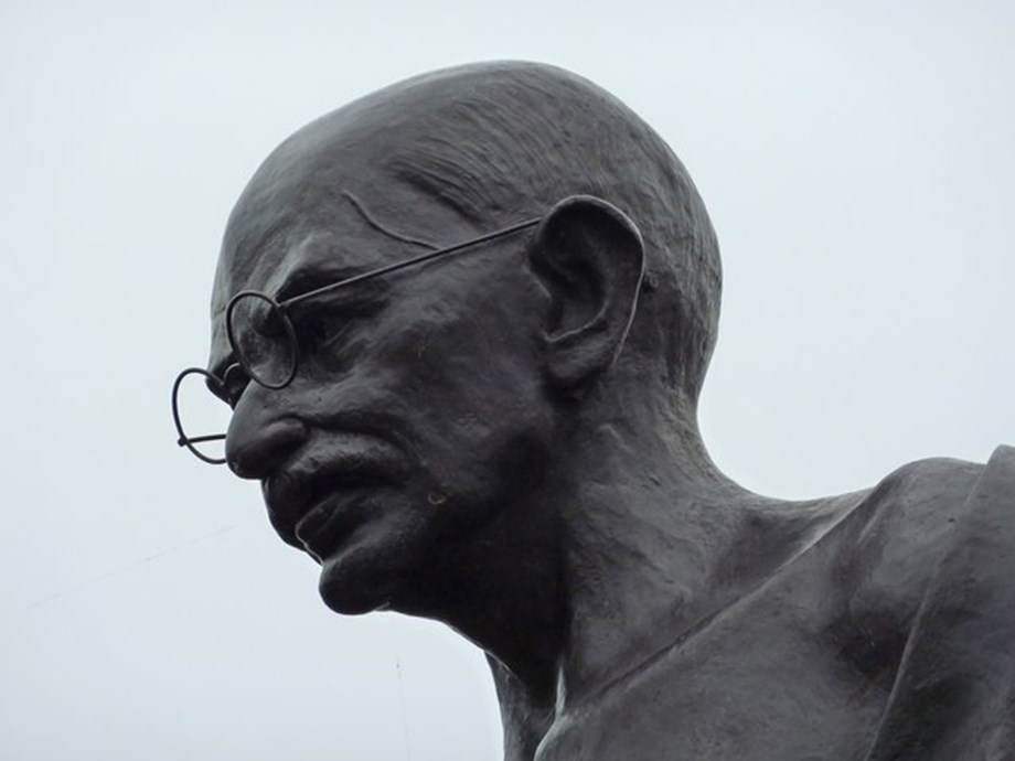 Gandhi's statue vandalised in Amreli district of Gujarat
