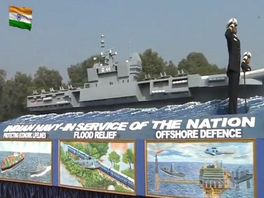 Republic Day Parade: Naval tableau showcases might and fire power of Indian Navy in all three dimensions