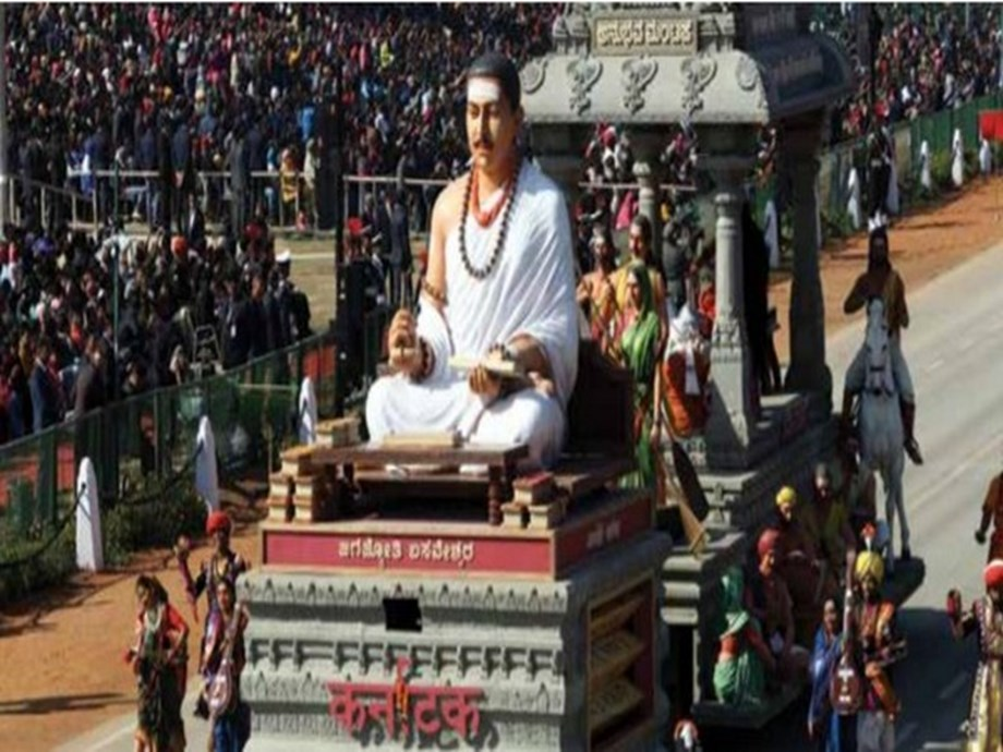 K'taka tableau on R-Day depicts 'work is worship' philosophy of Basaveshwara