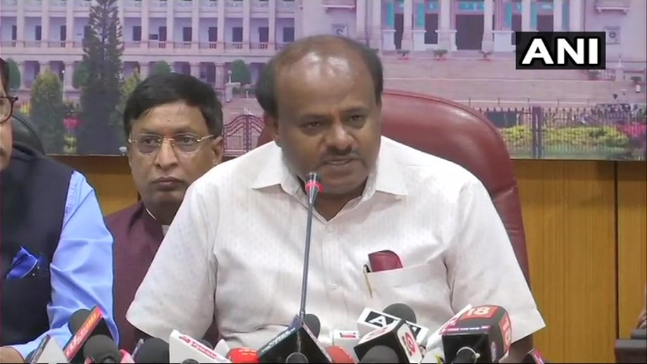 I'm chief minister because of no other person but public-  Kumaraswamy