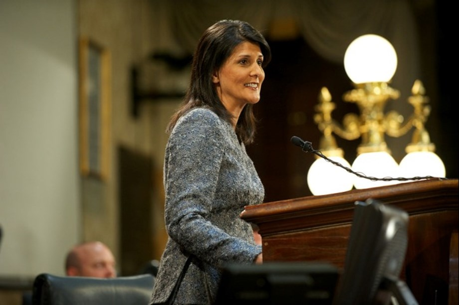 Israeli group honors Nikki Haley by minting coin emblazoned with her face