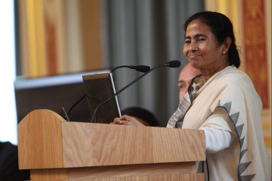 HM encouraging BJP cadres to create communal tension in WB: Mamata