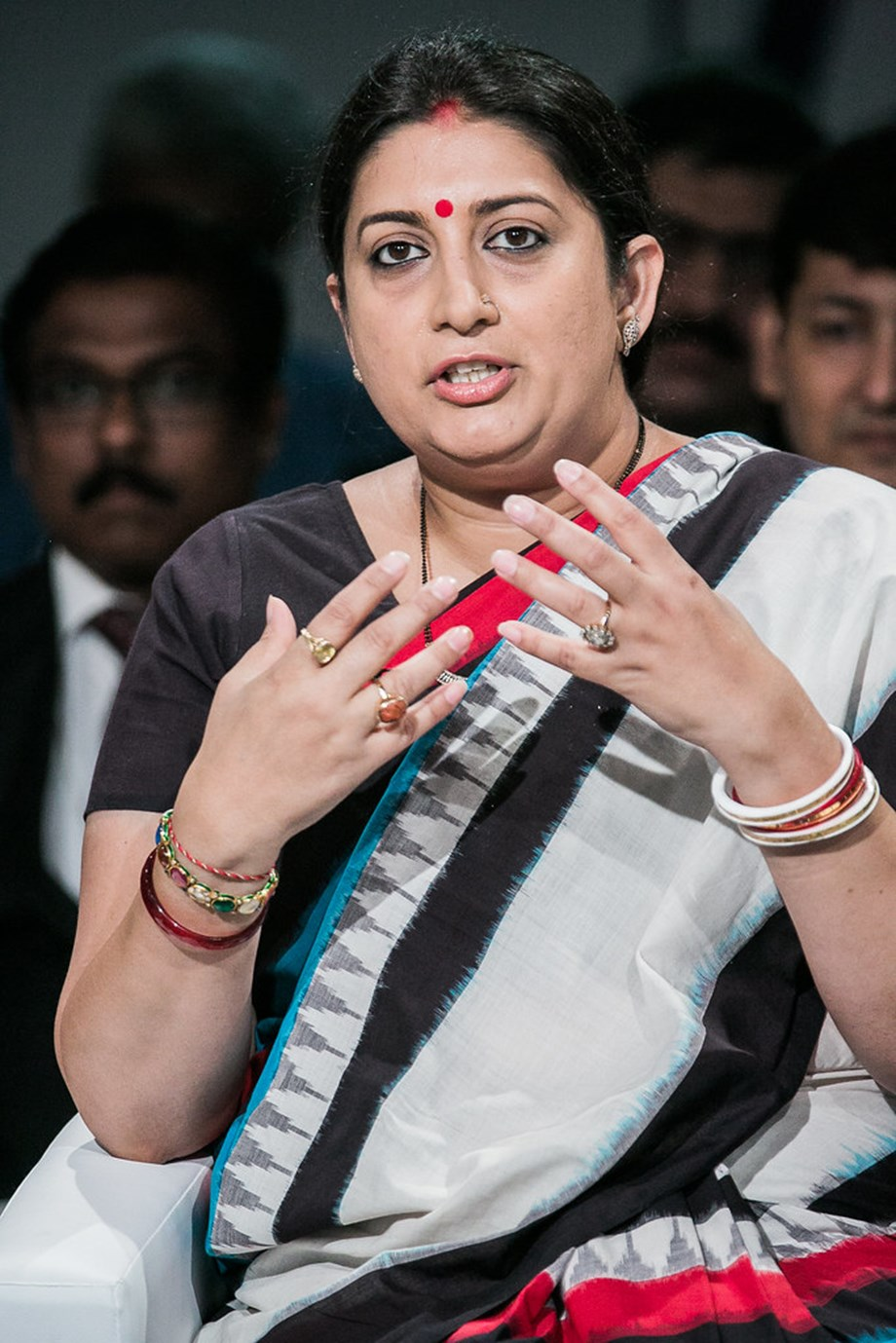 Govt's efforts on economic front visible: Irani