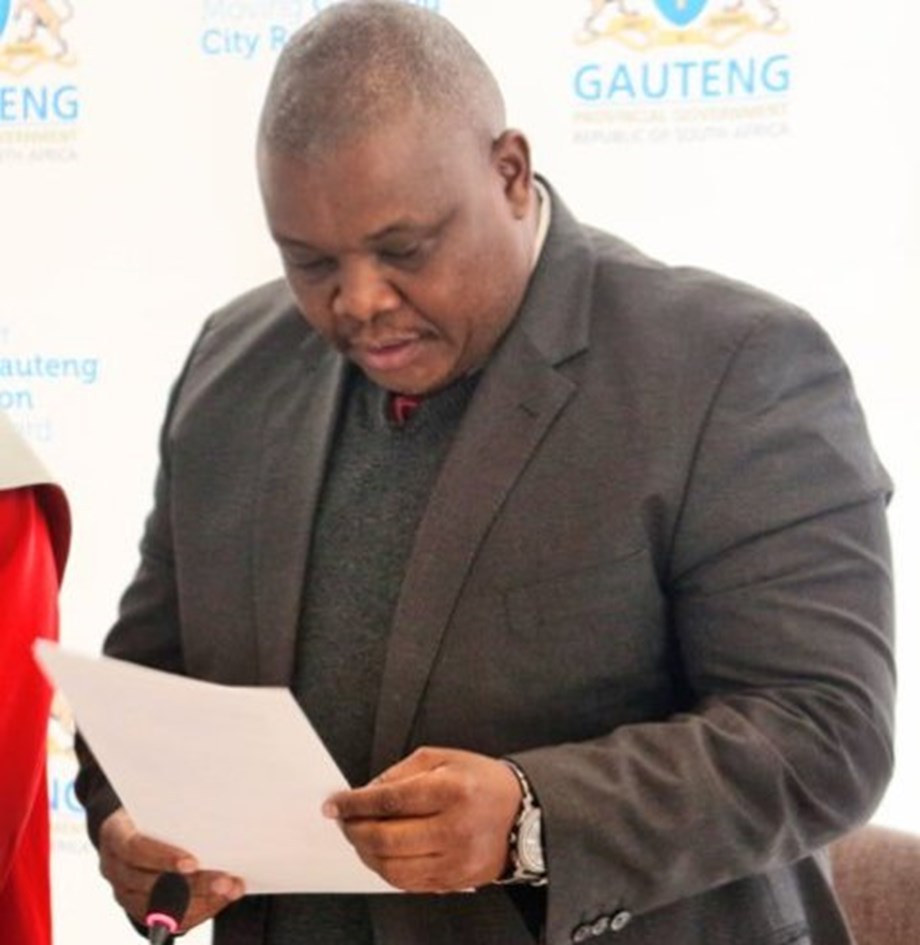 Gauteng MEC launches road rehabilitations projects on major roads