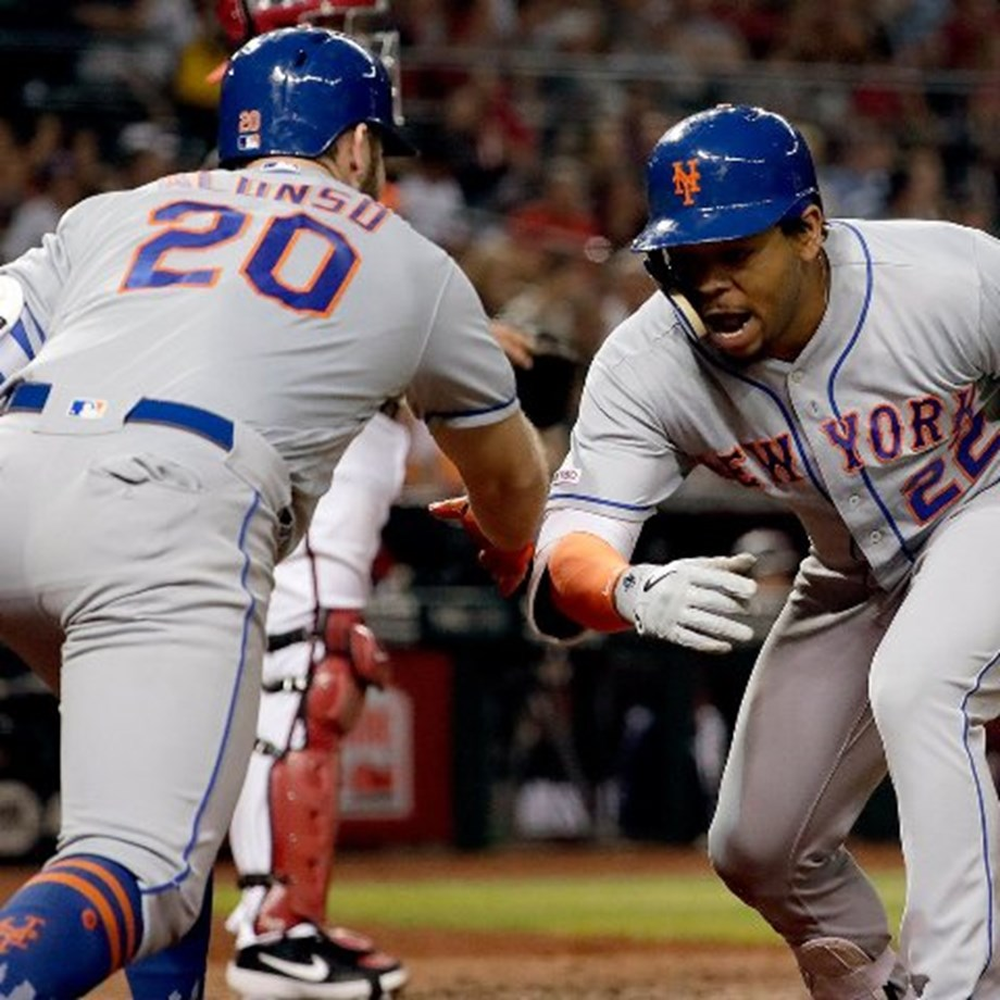 Alonso ties record, Mets hold off Braves in slugfest