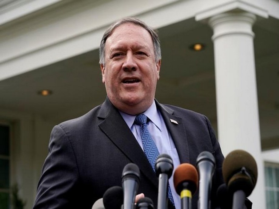 UPDATE 1-Pompeo says Orwell's '1984' coming to life in China's Xinjiang region