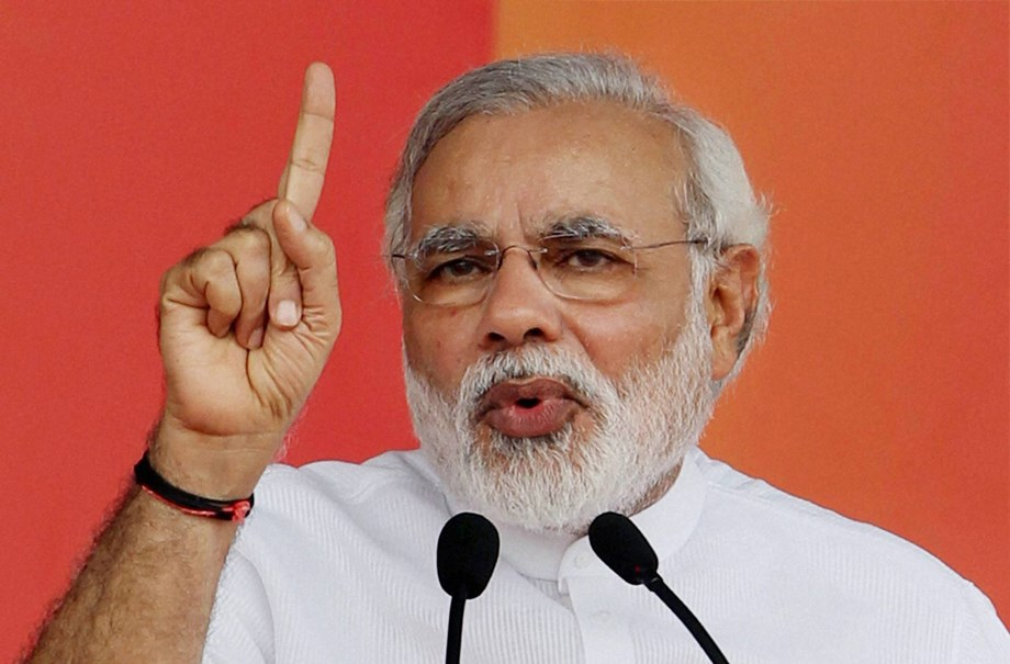 Modi describes left-wing extremists 'monsters with the evil mindset'
