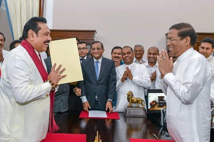 Sri Lanka's Tamil National Alliance will back no-trust motion against PM Mahinda Rajapaksa