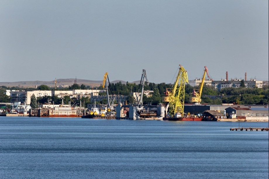 Ukrainian naval vessels captured by Russia held at Crimean port of Kerch: Reuters witness