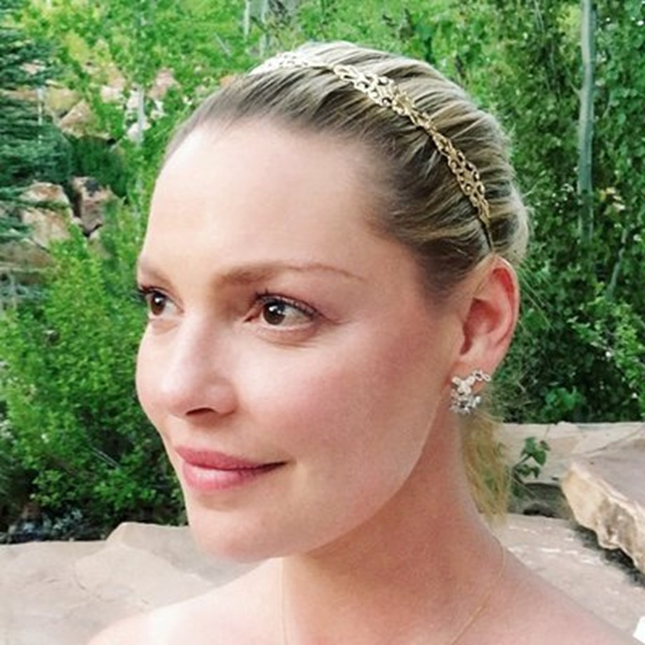 Actress Katherine Heigl is 40 and loving it