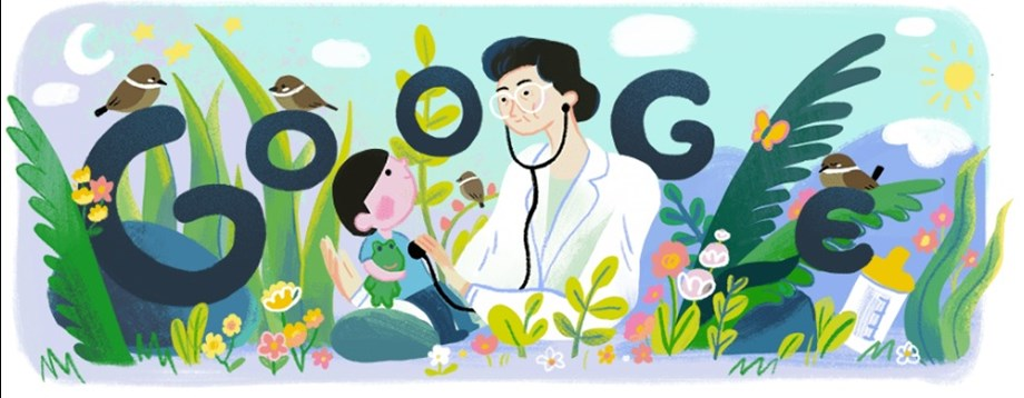 Google doodle on Fe Del Mundo: Celebrating her 107th Birth Anniversary!