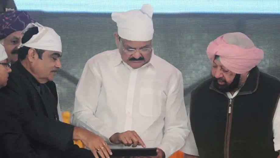 Congress-BJP plaque battle on Kartarpur corridor ceremony