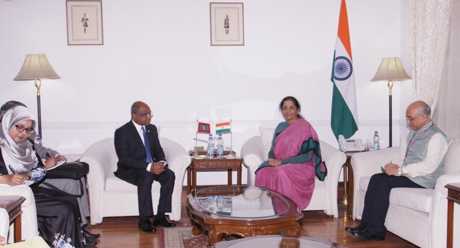 Maldives Foreign Minister under new administration visits 'important partner' India