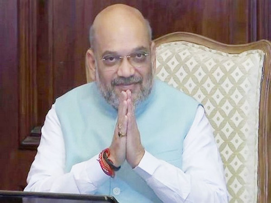 38 Divyang students meet Amit Shah As part of Samagra Shiksha Abhiyan