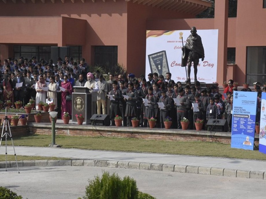 Indian Mission in Nepal marks 70 yrs of Indian Constitution's promulgation