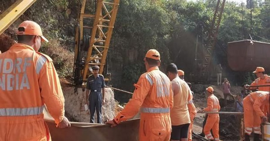 Deadly water level continue to hamper rescue operations in Meghalaya mine