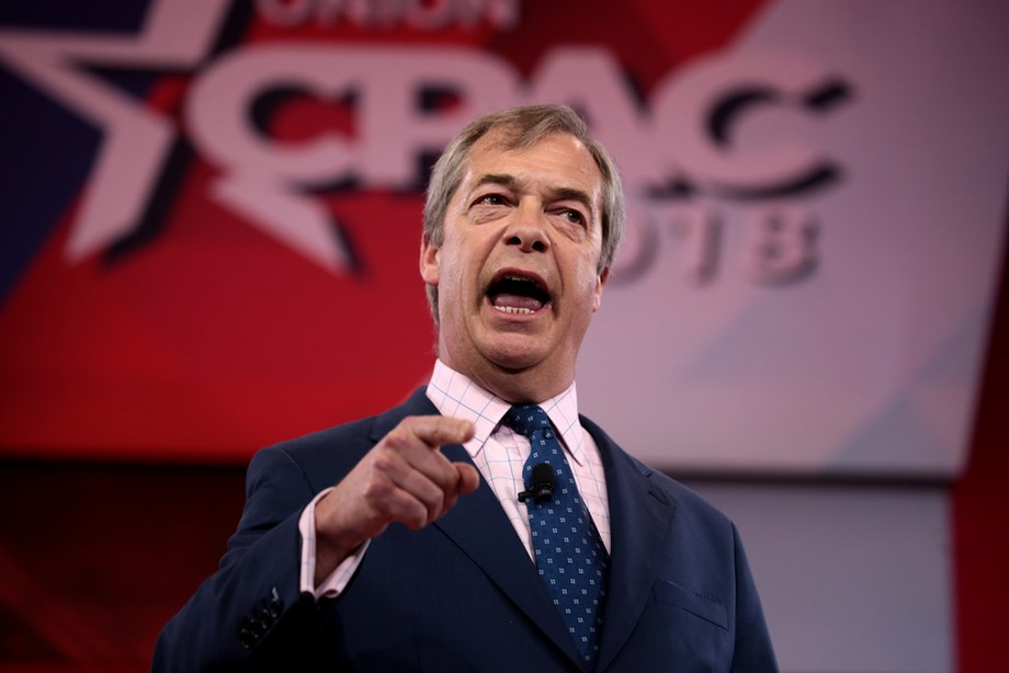 BRIEF-Nigel Farage Says Conservatives Will Win A 30-40 Seat Majority- The Telegraph