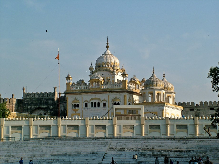Miscreants vandalized centuries old 'Guru Nanak Palace' in