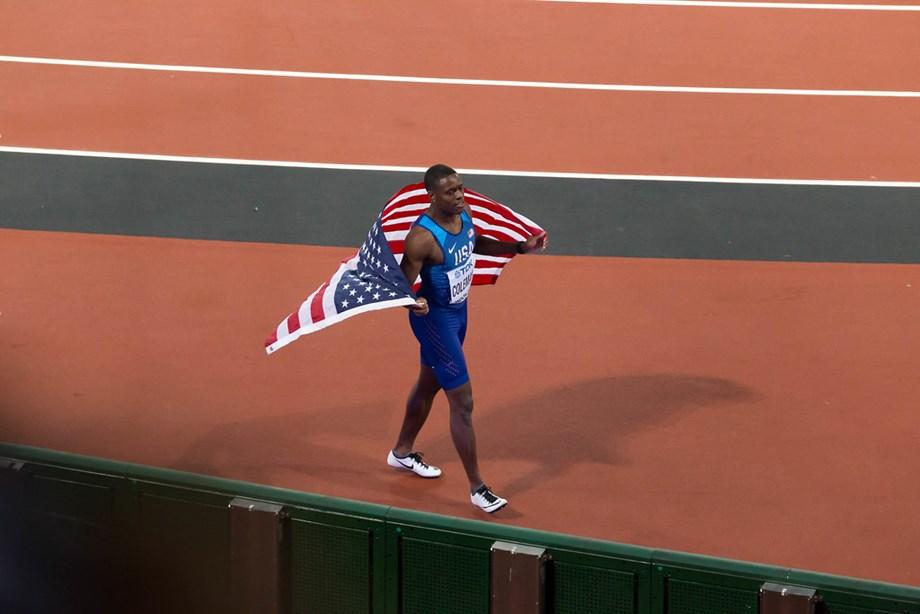 US speedster Coleman wins 60m heat in 6.48secs