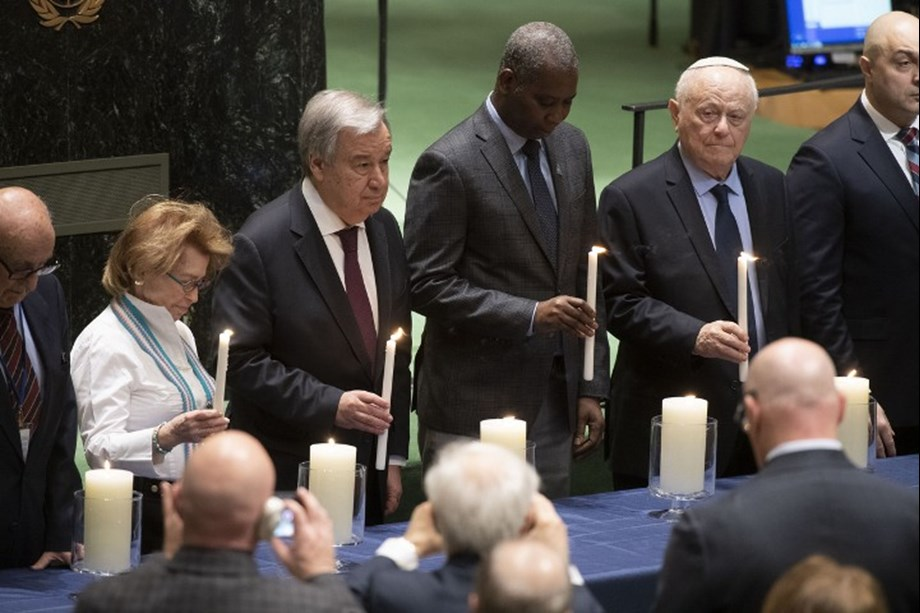 Holocaust events may seem far away but they are all too real, UN told