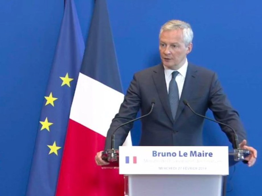 France and EU ready to respond with sanctions in U.S. trade dispute -French minister