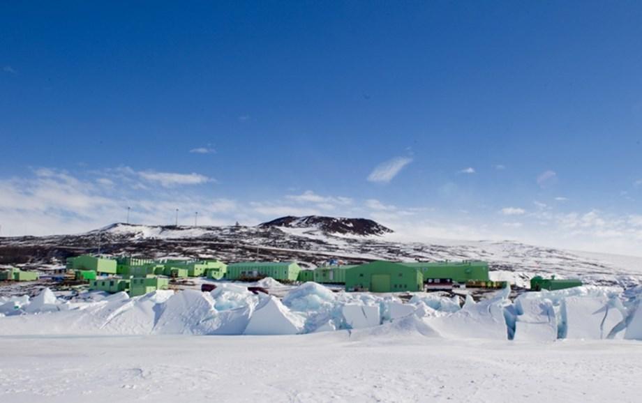 Fresh supplies arrive at Scott Base in Antarctica