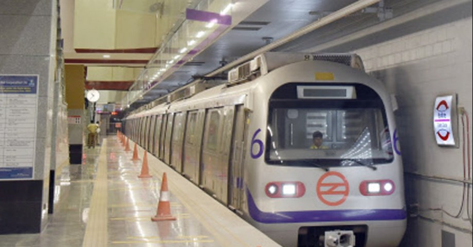 DMRC blue line trial from Noida City Centre to Noida Electronic City extension begins