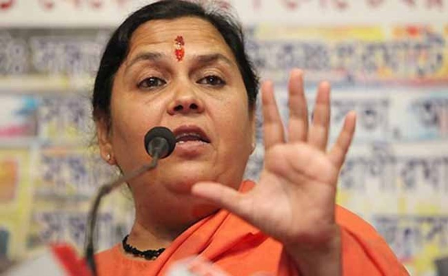 Uma Bharti calls for 'positive atmosphere' to settle Ram temple dispute