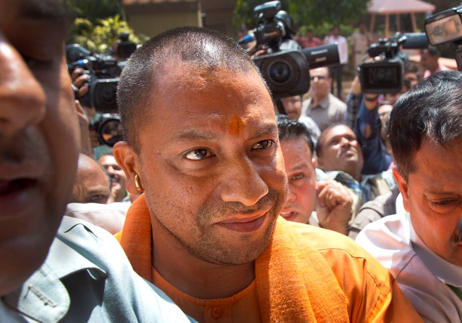 Two injured in gas cylinder blast in an event before Yogi's visit